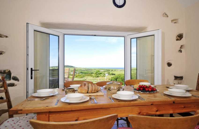 Aberdaron holiday cottage - view