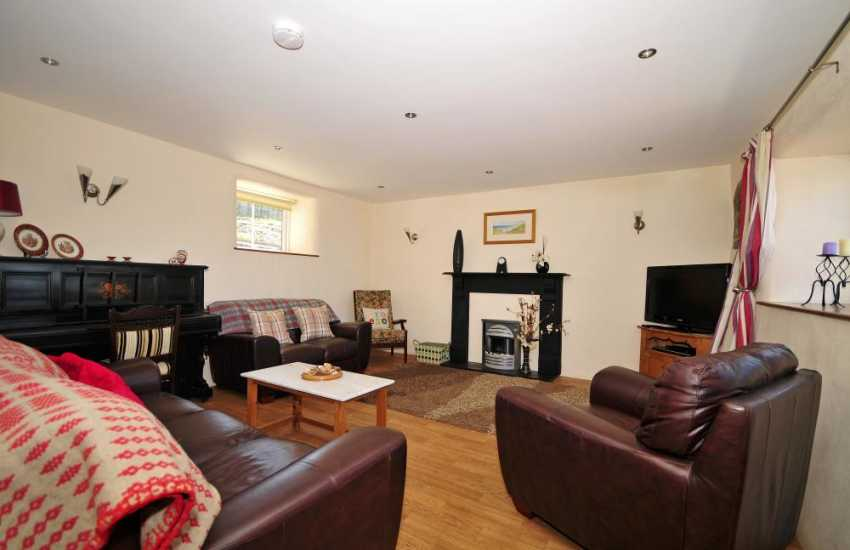 Aberdaron holiday cottage - sitting room