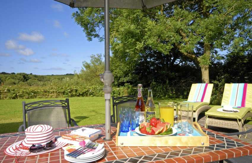 Relax with family and friends in the grounds of Lower Lochturffin