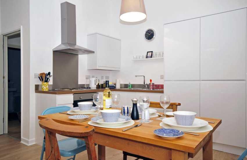 Harlech apartment Criccieth - dining