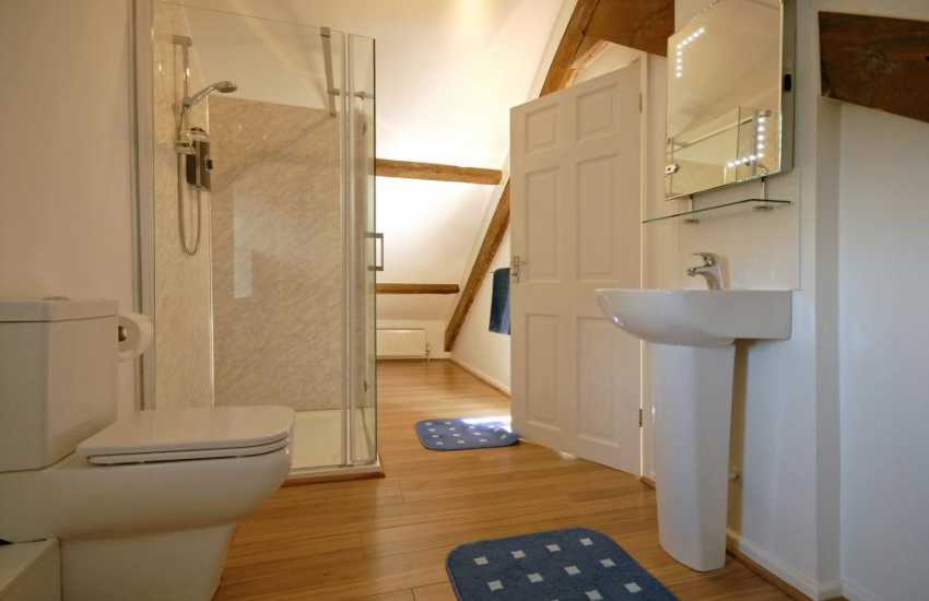 New Quay holiday home - 2nd floor en-suite showeroom
