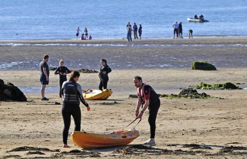 Watersports & beach in Rhosneigr, Anglesey