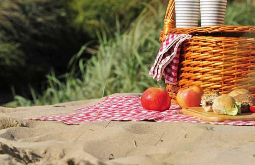 The Llyn Peninsula is full of secluded picnic spots in hidden bays