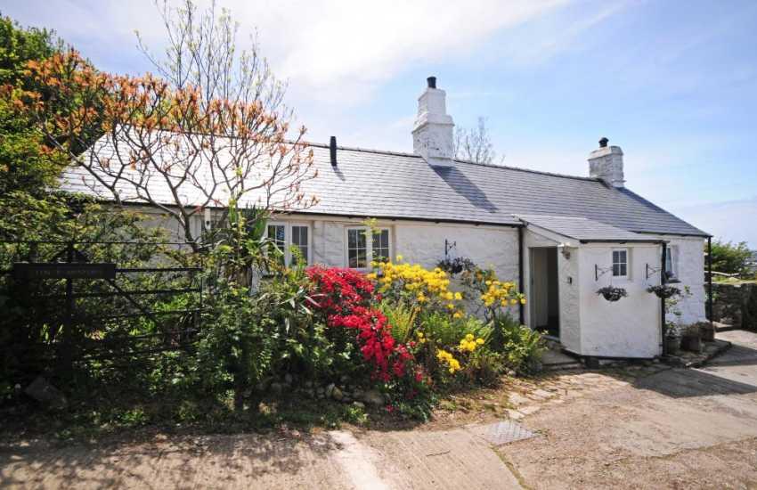 Luxury coastal cottage Wales  - exterior