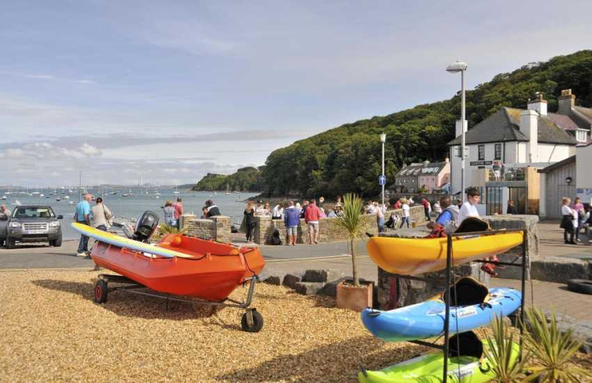 Dale is a seaside village very popular with water sport enthusiasts. Activities at West Wales Water Sports range from sailing, windsurfing, kayaking and even powerboat courses