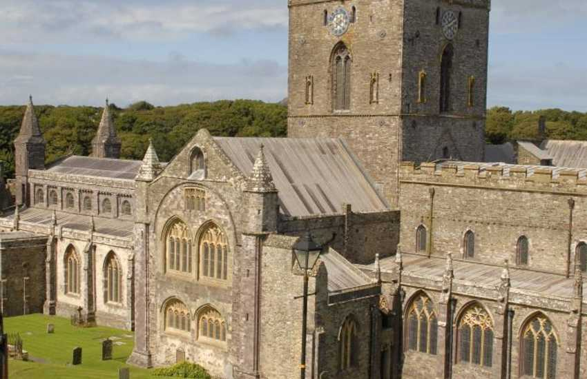 Do visit magnificent St Davids Cathedral in the heart of Britain's smallest city
