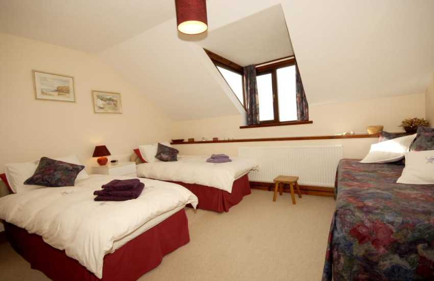 South Pembrokeshire holiday home bedroom