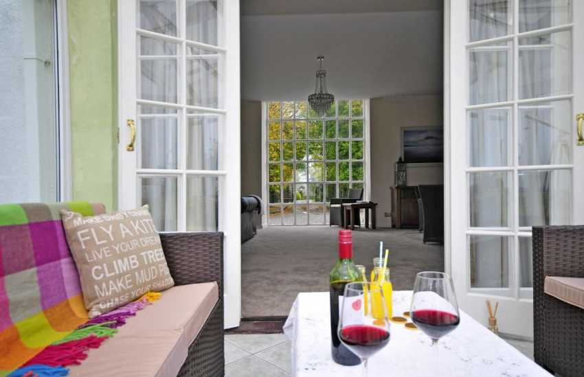 Aberffraw holiday cottage - conservatory