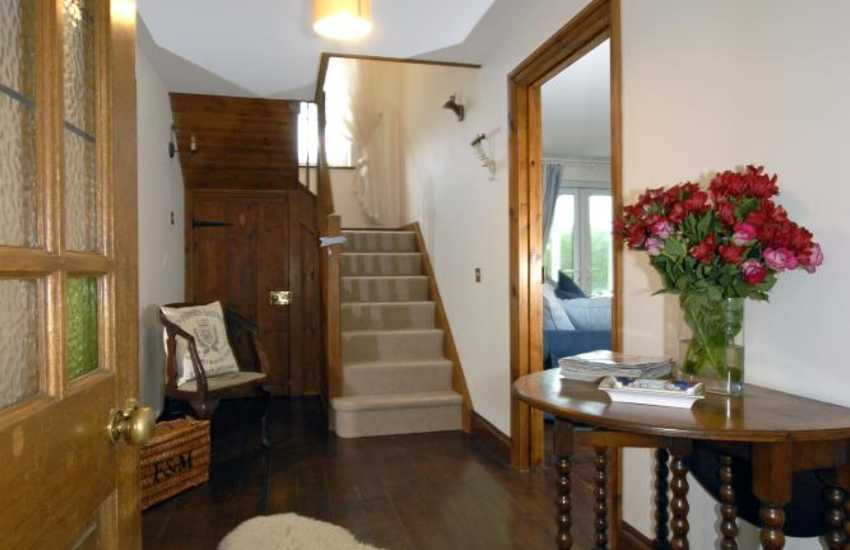 South Pembrokeshire family holiday cottage - entrance hall