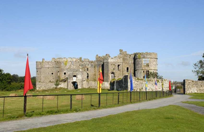 Manorbier castle, Pembroke castle, (birthplace of Henry VII), and Carew are all magnificent castles to explore