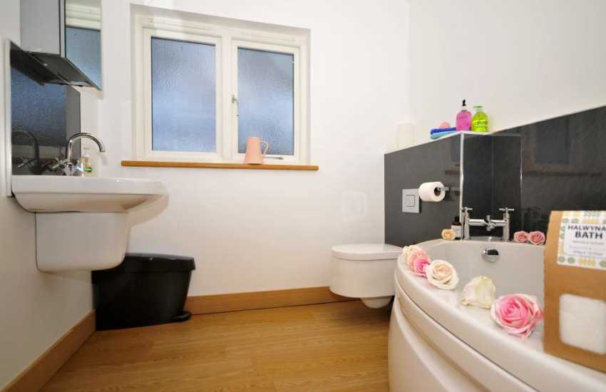 Aberystwyth holiday home-bathroom