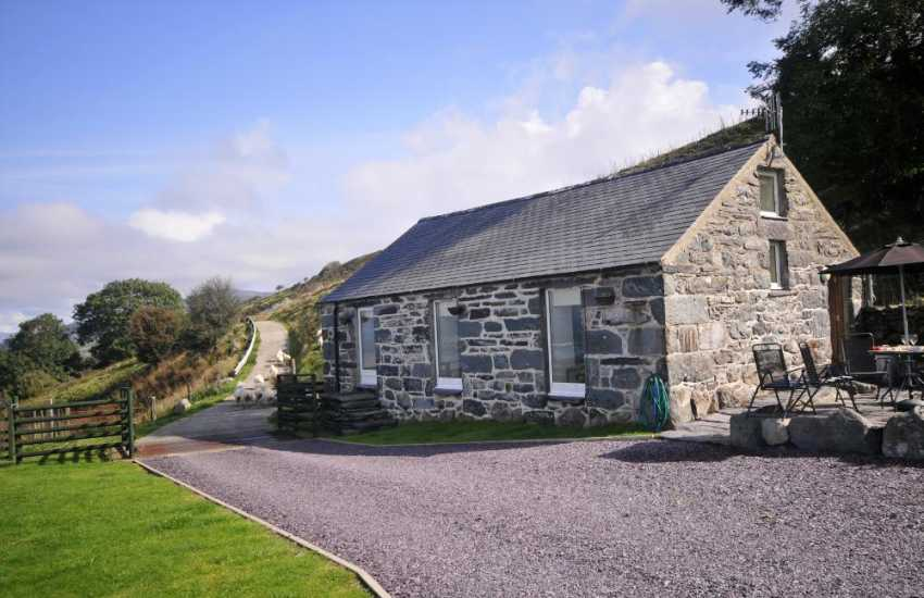 Harlech holiday cottage -  ext