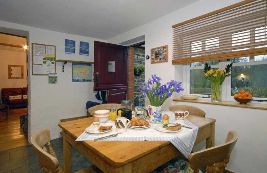 St Clears converted self catering barn for holidays near the coast