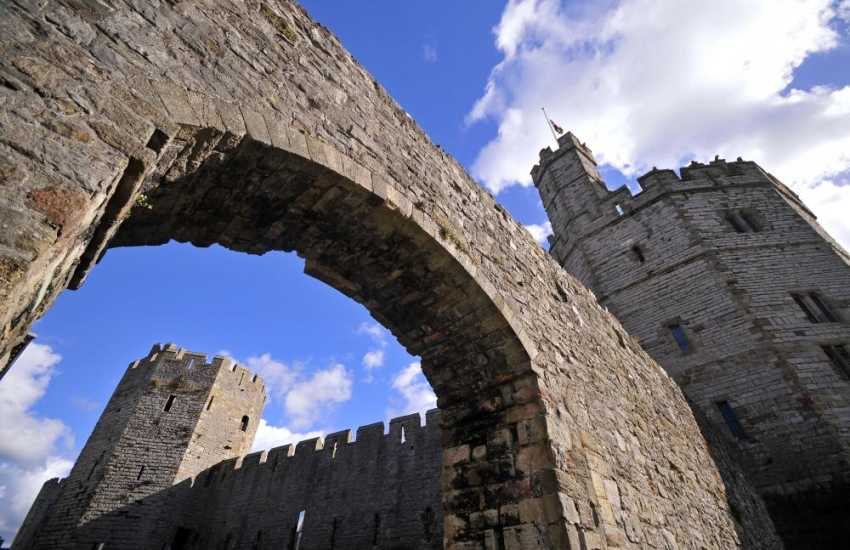 Caernarfon - wonderful for a day out