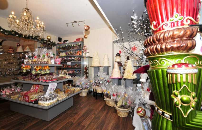 Benjamin Lee Welsh Chocolatier and Patissier's shop Menai Bridge