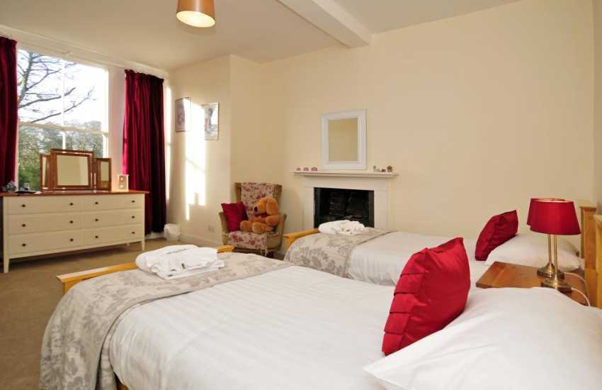 Luxury holiday house north Wales - bedroom