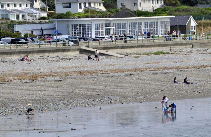Dylan's Restaurant on the Esplanade in Criccieth