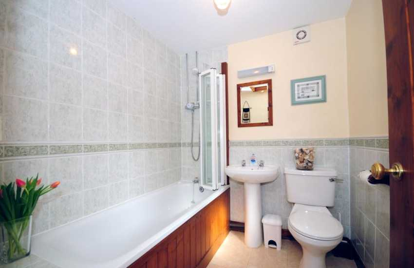 Holiday cottage mid Wales - bathroom