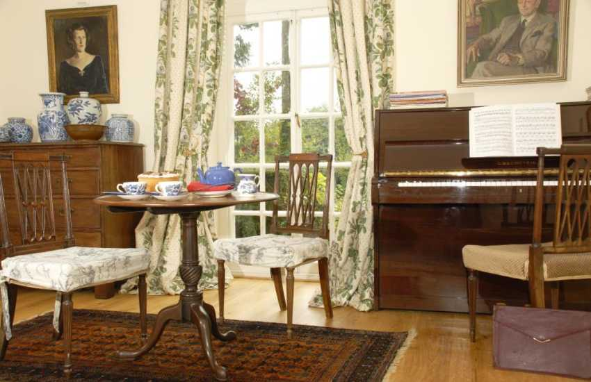 Spacious house with a piano for fun filled family holidays