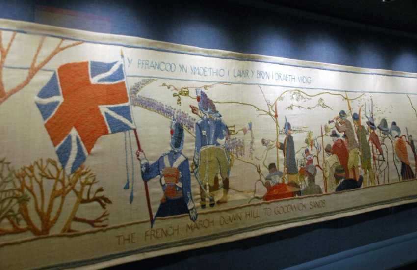 Do visit Fishguard - a bustling old market town where the impressive Last Invasion Tapestry is on show in the Town Hall