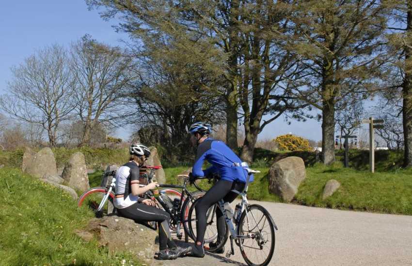 Explore scenic Pembrokeshire by bike