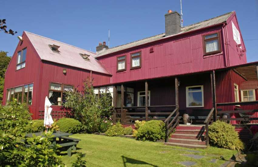 Tafarn Sinc in the Preseli Hills - the highest licensed inn in the Pembrokeshire National Park