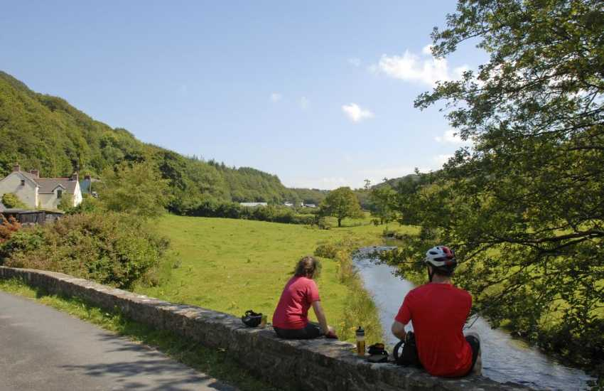 The Gwaun Valley has a unique atmosphere, abundant wildlife and prehistoric sites - wonderful place to escape the pressures of today's modern world