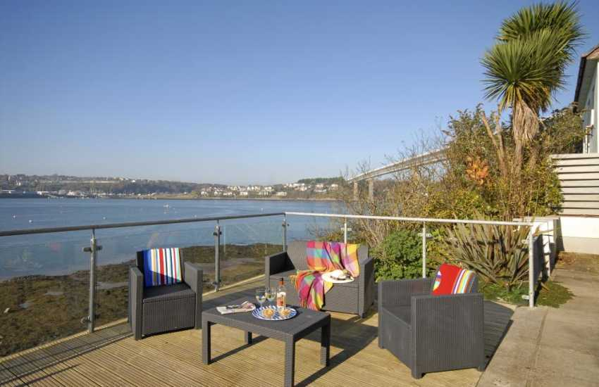 Fabulous Haven Waterway views from the large decked area