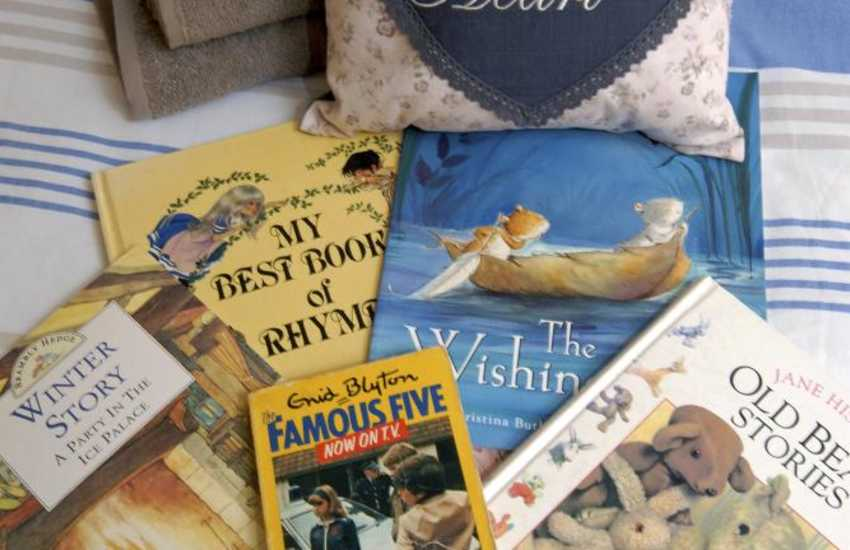 Pembrokeshire holiday cottage with lots of children's books to read