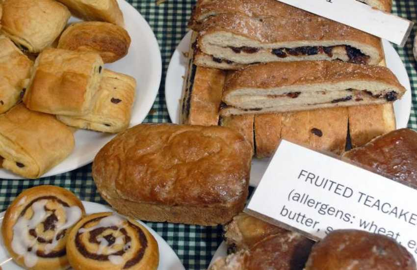 Fishguard's Farmers Market is held every Saturday in the Town Hall - lots of lovely local produce on offer