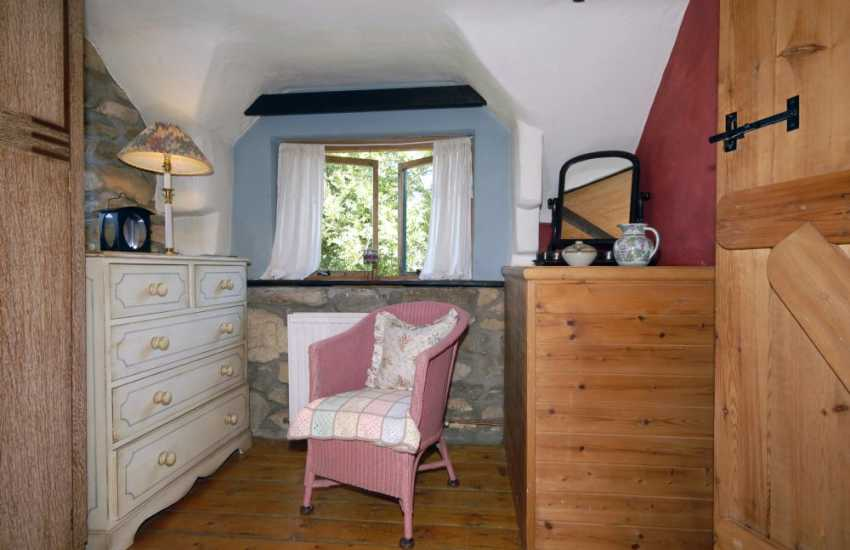 Romantic retreat North Pembrokeshire  - double with sea views