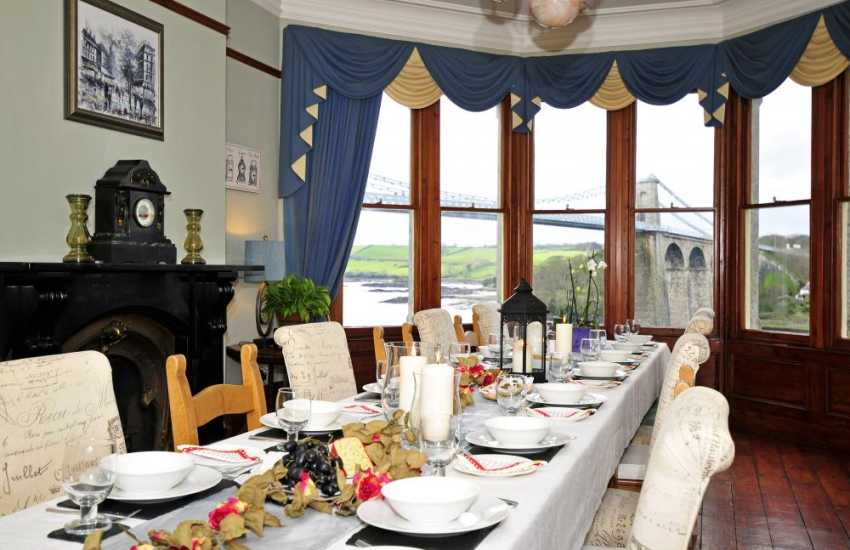 Victorian Manor house-dining room