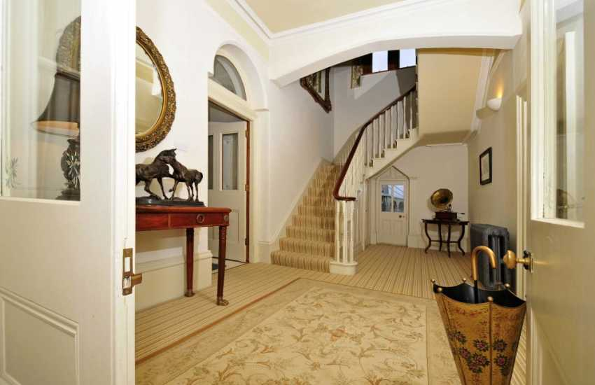 Victorian Manor house-hall