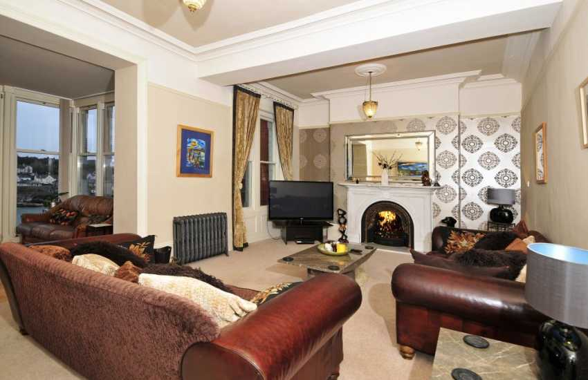 Anglesey holiday home-lounge