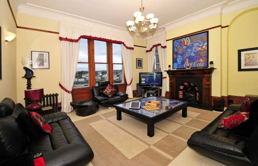 North Wales holiday home-2nd lounge