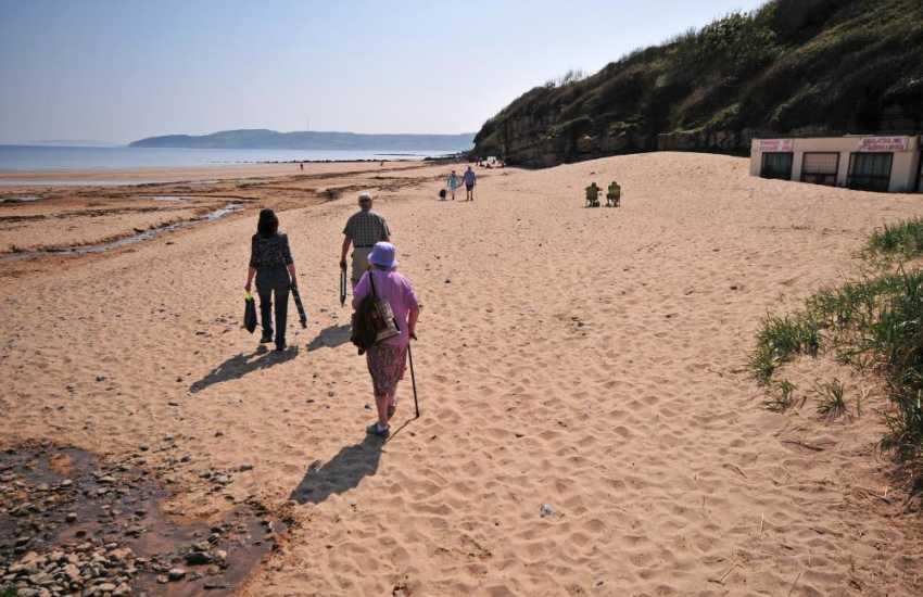 Benllech beach - walk to Red Wharf Bay