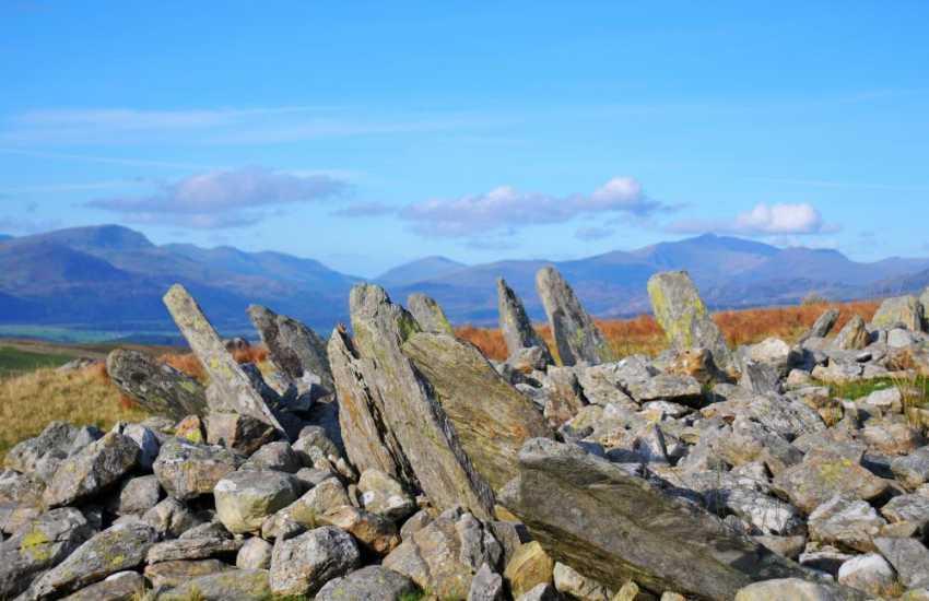 Bryn Cader Faner stone circle, North Wales
