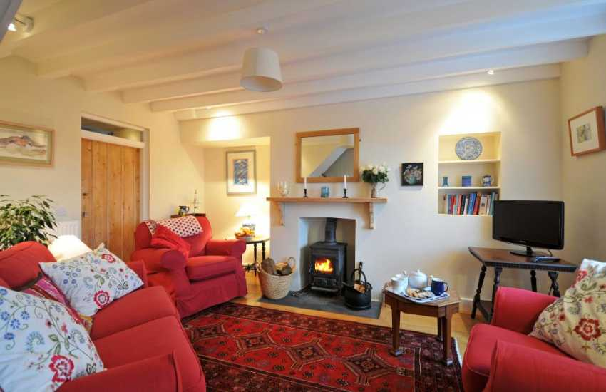 Pembrokeshire luxury cottage - lounge