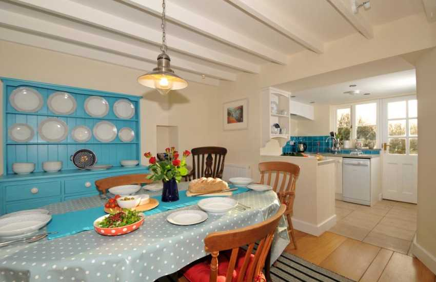 Holiday cottage St Davids - dining