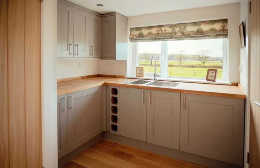 Carmarthenshire holiday home-utility room