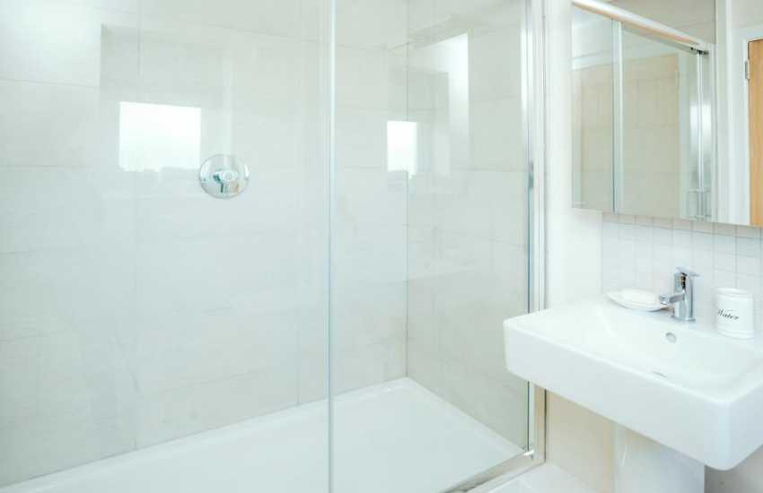 Carmarthen for holidays cottage sleeps 4-shower room