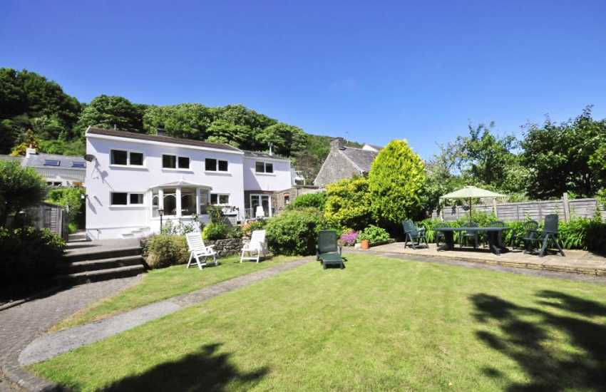 Riverside cottage with mature garden in Solva, North Pembrokeshire
