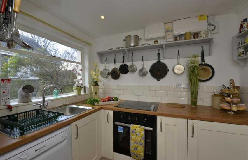Pembrokeshire holiday cottage- country style kitchen