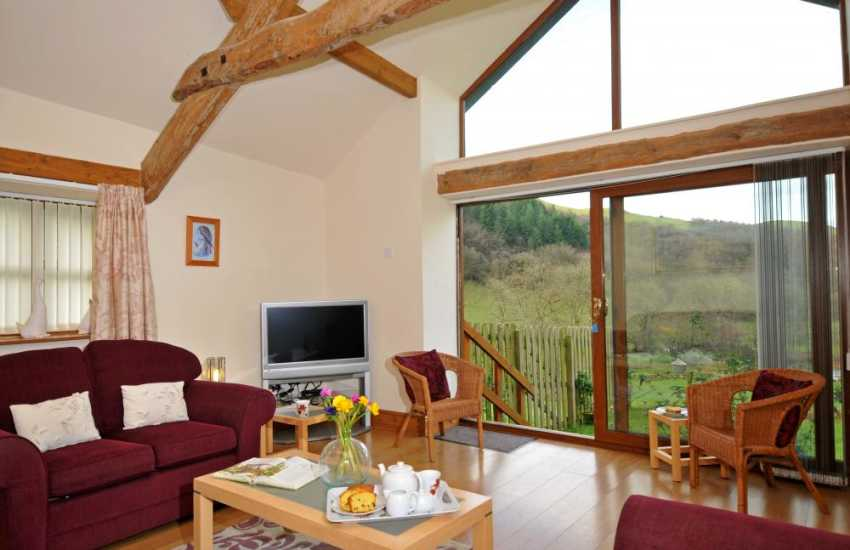 Hot Tub holiday cottage - lounge
