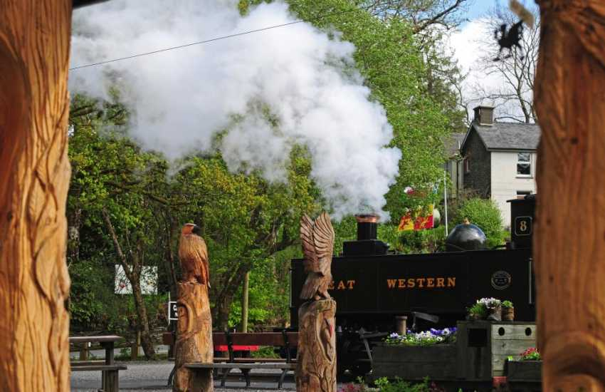 Vale of Rheiddol Railway from Aberystwyth to Devil's Bridge