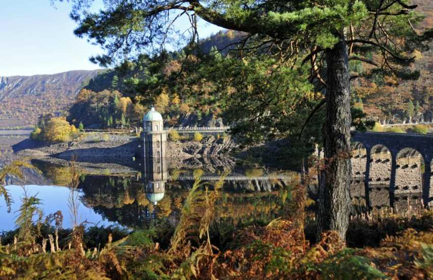 Elan Valley Reservoir, cycling and walking heaven