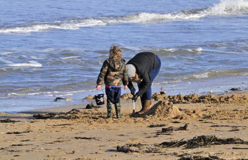 Benllech beach for family fun all year round