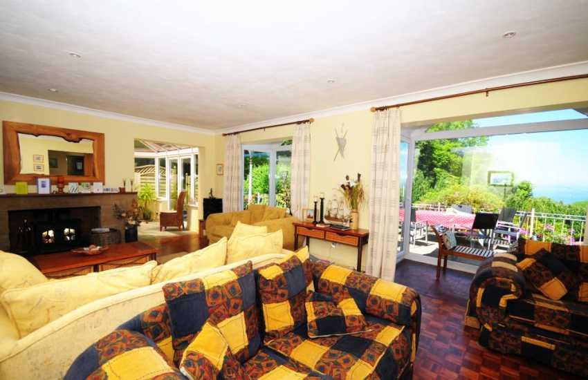 Anglesy holiday cottage - lounge
