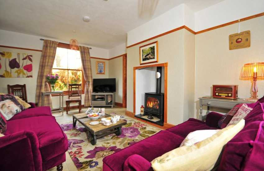 Holiday cottage with hot tub Wales, UK - landing