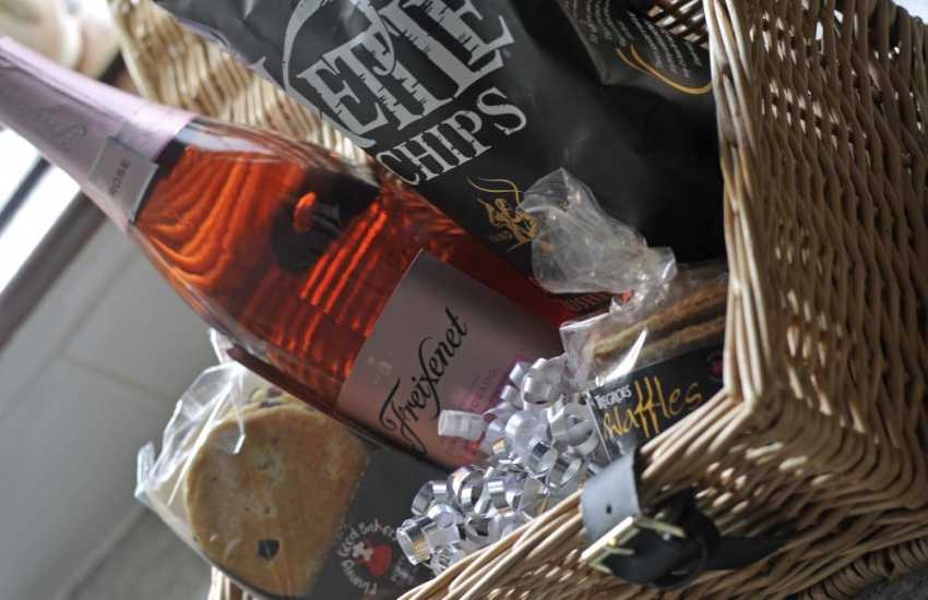 Luxury holiday cottage Aberystwyth - welcome pack